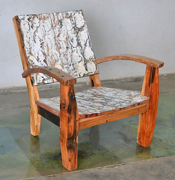 MAX CHAIR W/ CARVING - #156