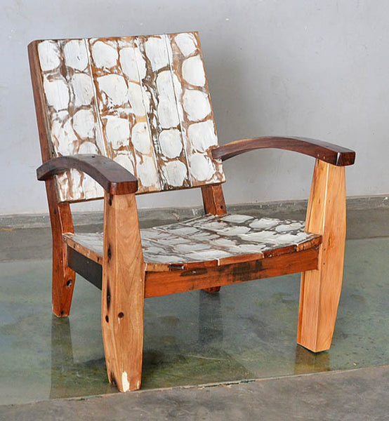 MAX CHAIR W/ CARVING - #160