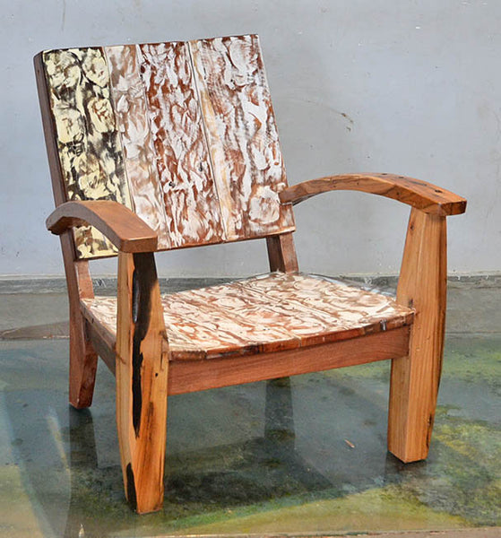 MAX CHAIR W/ CARVING - #134