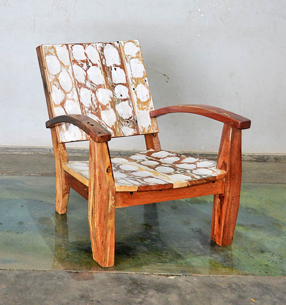 MAX CHAIR W/ CARVING - #172