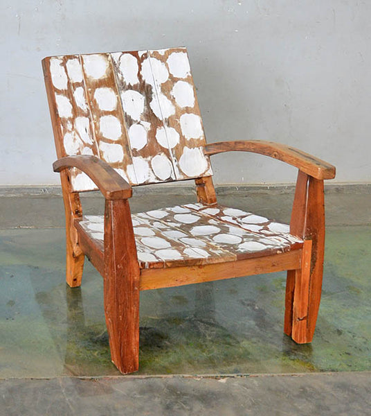 MAX CHAIR W/ CARVING - #167
