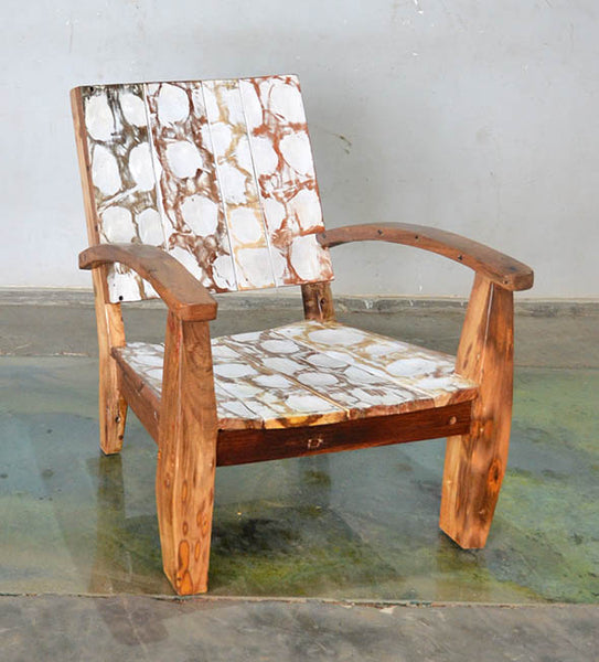 MAX CHAIR W/ CARVING - #168