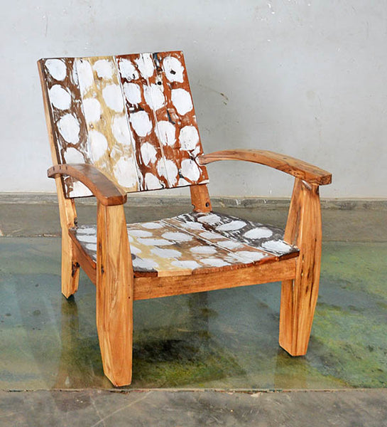 MAX CHAIR W/ CARVING - #181