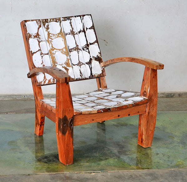 MAX CHAIR W/ CARVING - #185