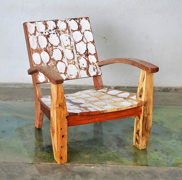 MAX CHAIR W/ CARVING - #186