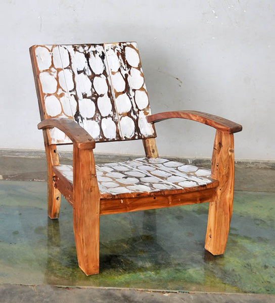 MAX CHAIR W/ CARVING - #190