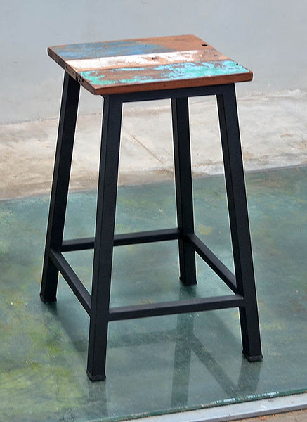 Peter Bar Stool Metal Legs - #132