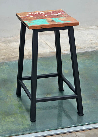 Peter Bar Stool Metal Legs - #147