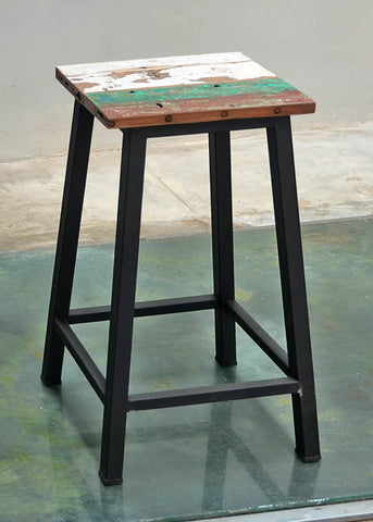 Peter Bar Stool Metal Legs - #153