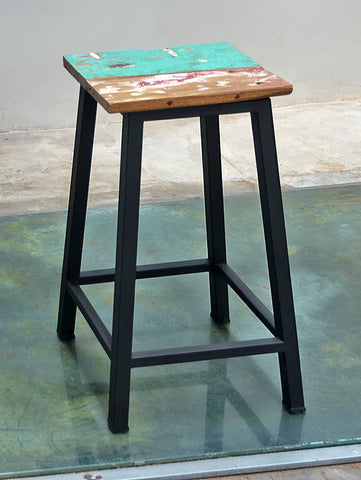 Peter Bar Stool Metal Legs - #156