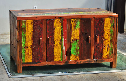 SIDEBOARD PETER 4 DOOR - #115