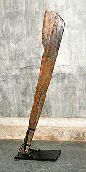 Large Oar with Base - #116