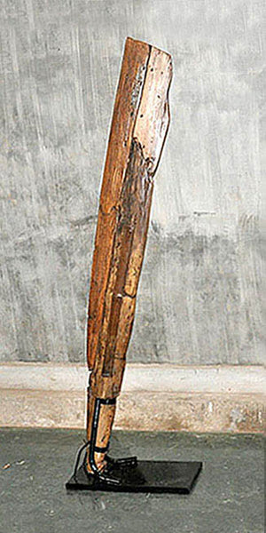 Large Oar with Base - #120