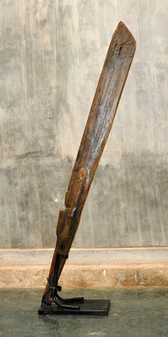 Large Oar with Base - #139