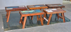 PATCHWORK BENCHES