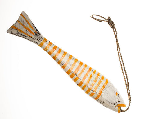String Fish Large - Orange - #99M