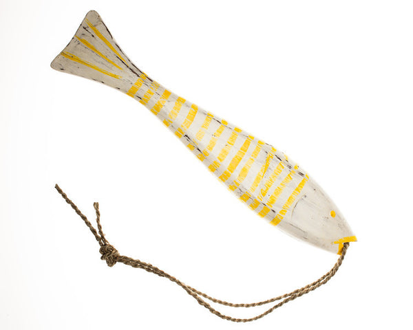 String Fish Large - Yellow - #99M