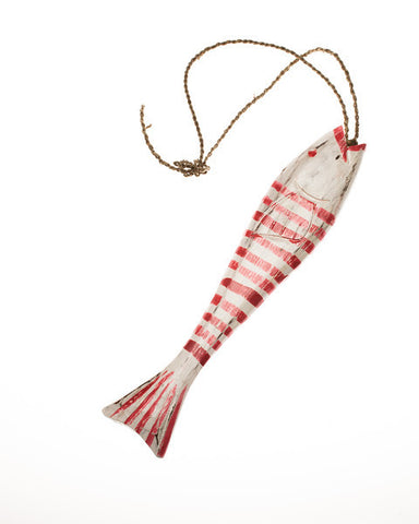 String Fish Medium - Red - #99M