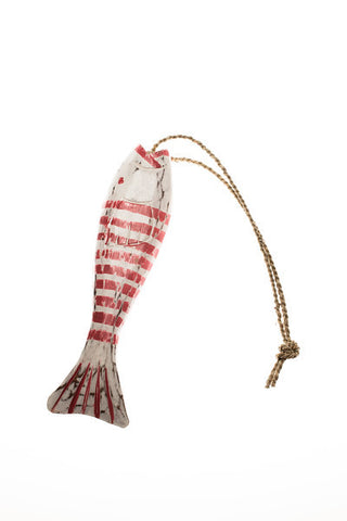 String Fish Small - Red - #99M