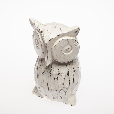 White Wash Owl - #99M
