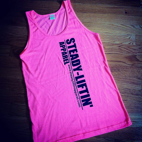 PINK STEADY LIFTIN' TANK
