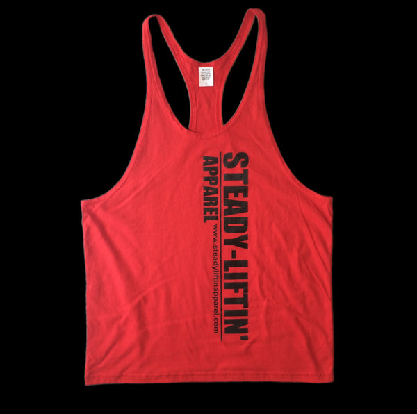 RED STRINGER BLACK LOGO