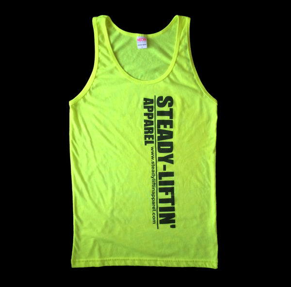 NEON YELLOW STEADY LIFTIN' TANK