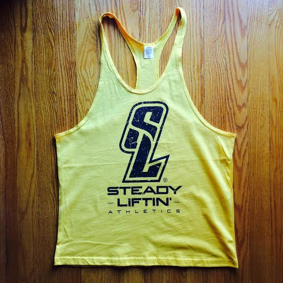 YELLOW SL LOGO STRINGER