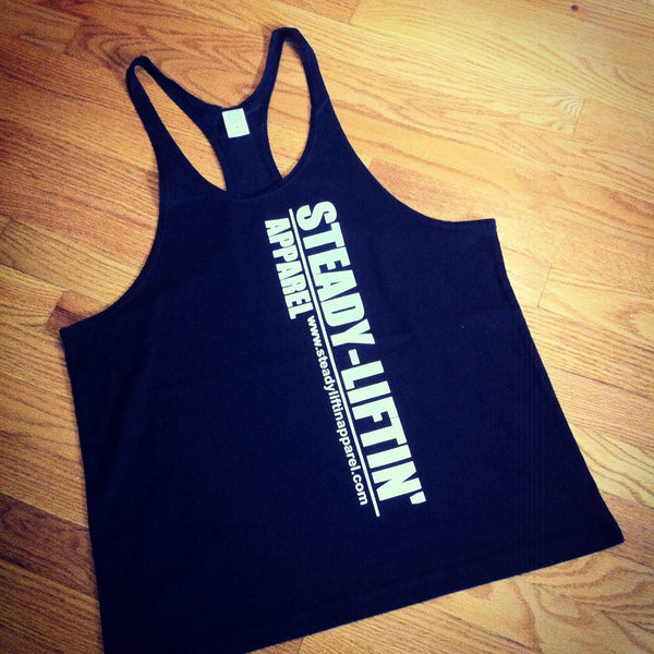 BLACK STRINGER WHITE LOGO