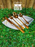 Stainless Steel Cutlery Set(24pcs**ITEM SHIPS FROM ABROAD**