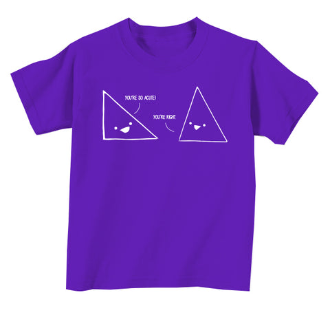 Narcissistic Triangle Kids Tee
