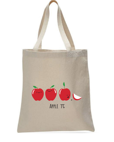 Apple Pi tote