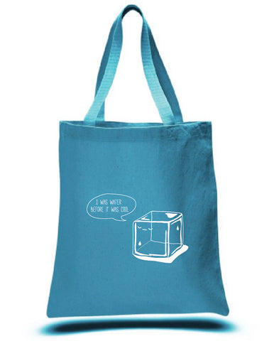 Hipster Ice Cube tote