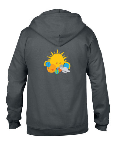 Hugs are for Planets Only Hoodie