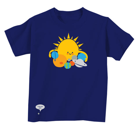 Hugs are for Planets Only Kids Tee