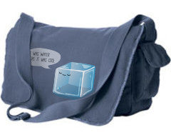 Hipster Ice Cube Messenger Bag