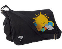 Hugs are for Planets Only Messenger bag