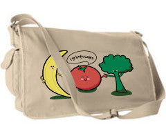 Tomatoes Go Both Ways Messenger bag