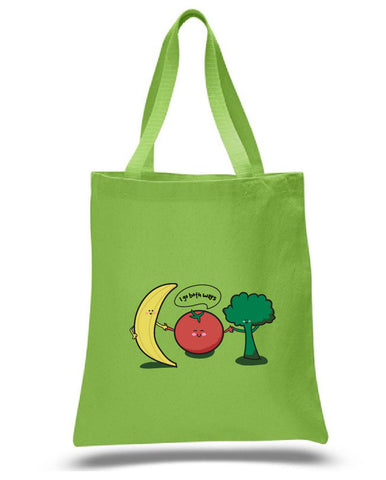 Tomatoes Go Both Ways tote