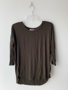 T. Babaton Long Sleeve Top Size Small