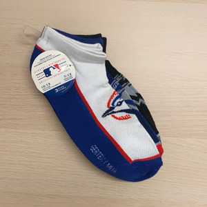 Mens 3PK Blue Jays Socks
