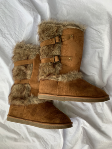 Just Fab Boots Womens 10