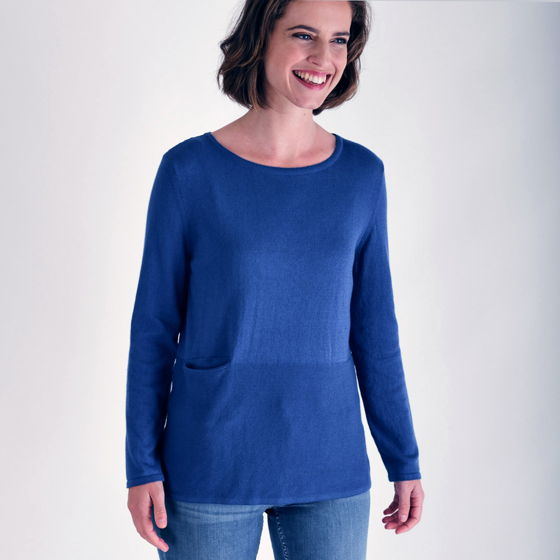 Bibico Nora Organic Cotton Jumper Cornflower