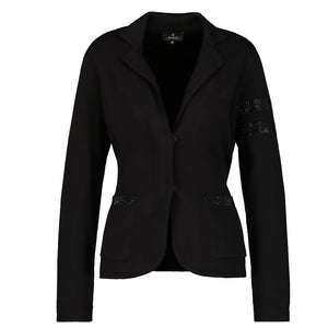 Monari Blazer style Jacket with Studs Black