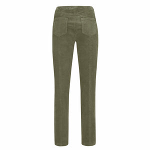 Robell Bella 73cm Full Length Cord Trouser Light Taupe
