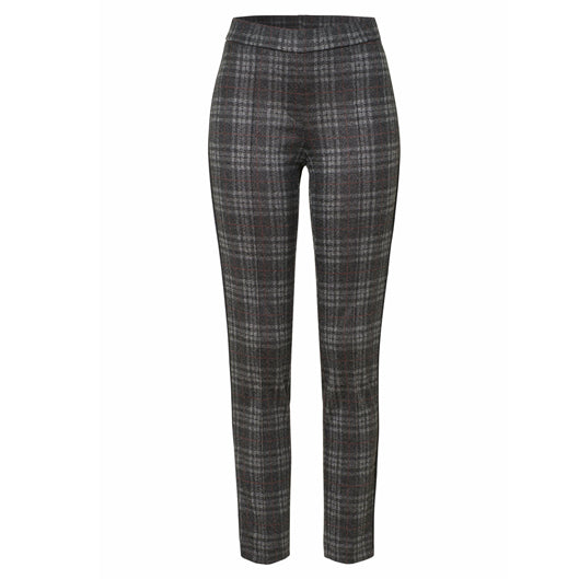 TONI Jenny Trousers Grey and Red Check