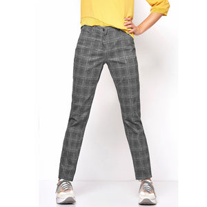 TONI Perfect Shape Skinny Jeans Grey Check