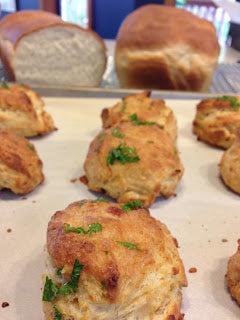 Cheddar Bay Biscuits with Tuscan Sunset