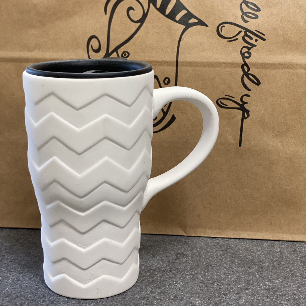 Chevron Travel Mug