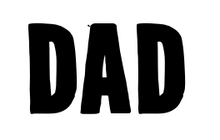 Load image into Gallery viewer, DAD Vinyl Letters